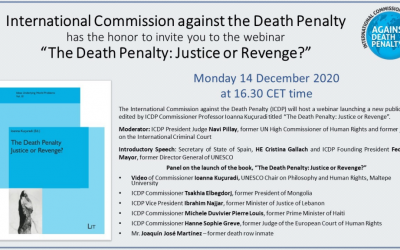 Webinar: «The Death Penalty: Justice or Revenge»